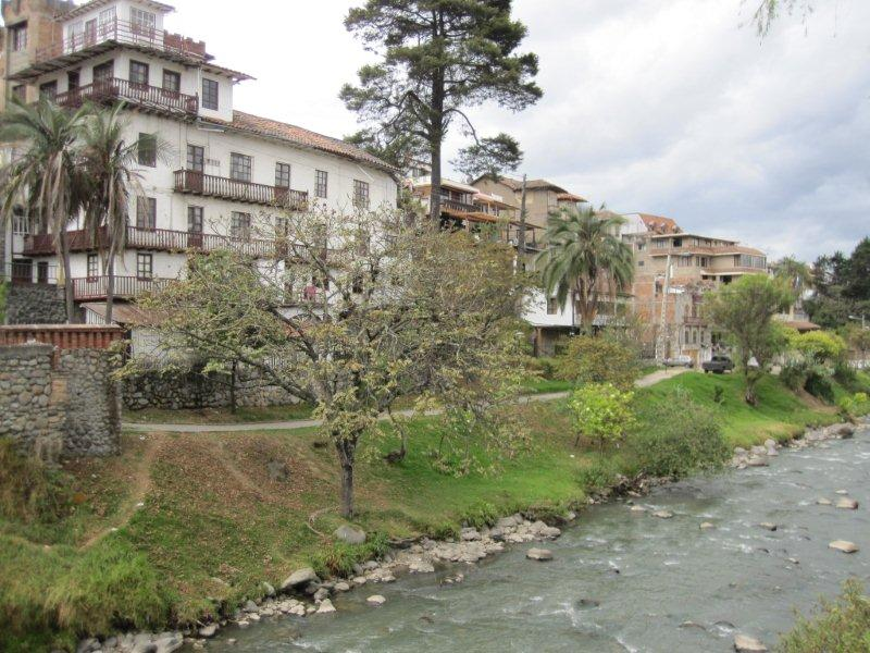 One of the 4 rivers in Cuenca