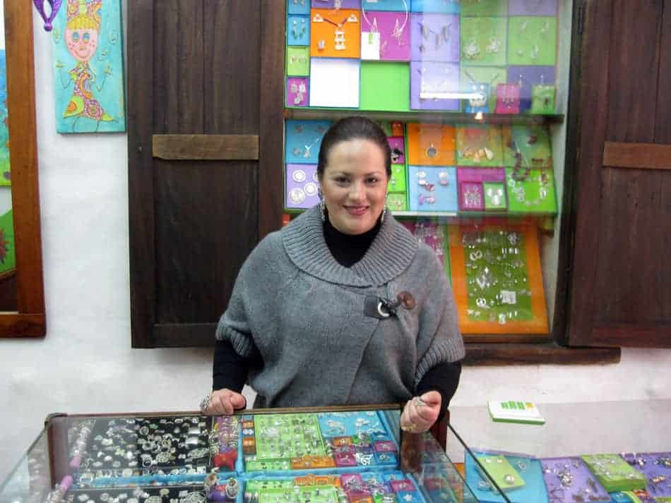 Custom silver jewelry in Cuenca