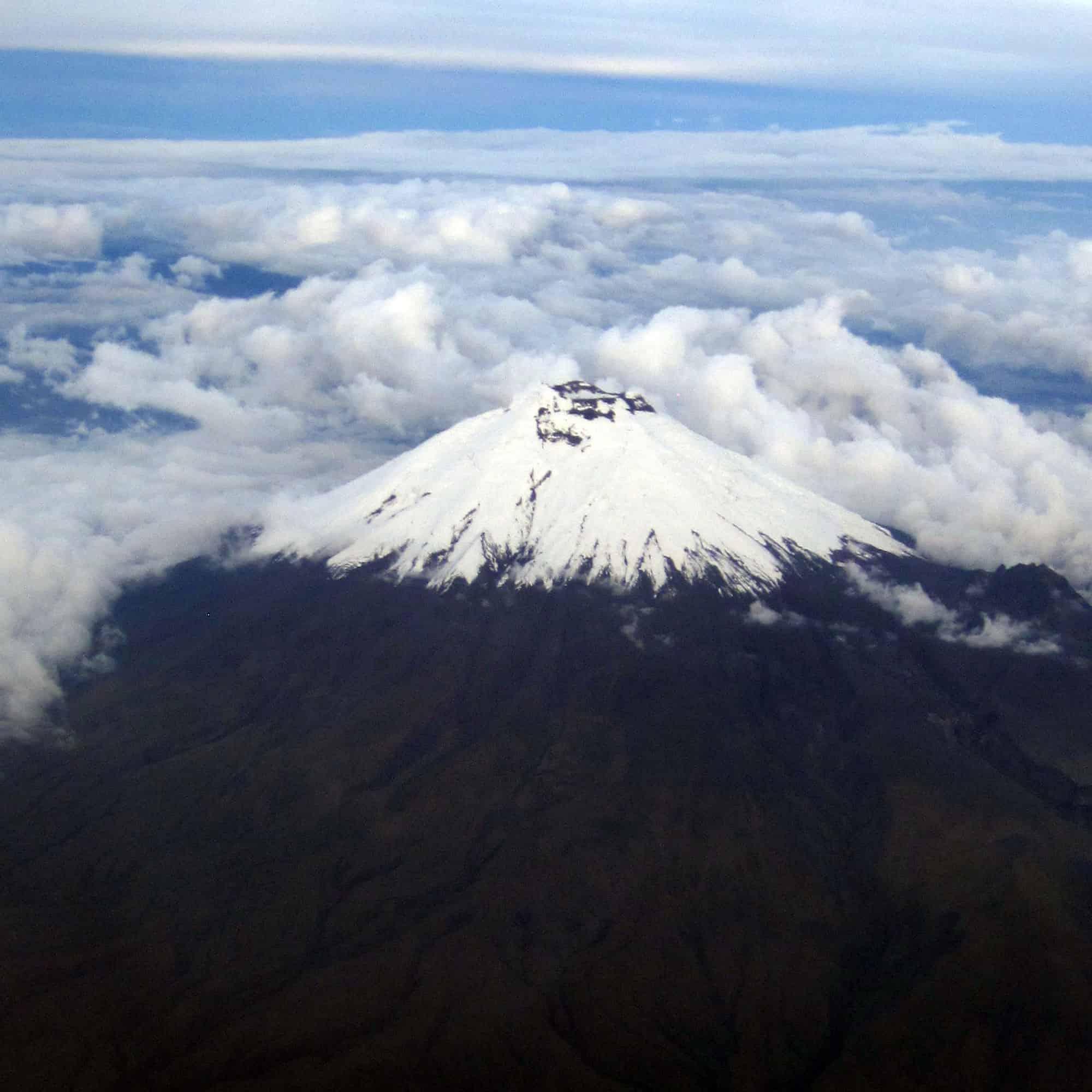 WeeklyPhoto - Cotopaxi Volcano Ecuador By Air
