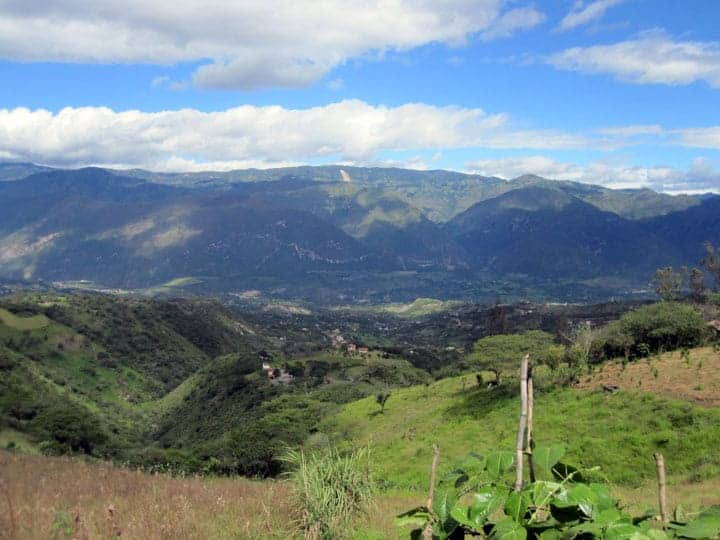 View of the Yunguilla Valley.
