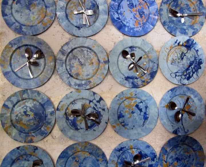 Plate artwork at Raymipampa Cuenca