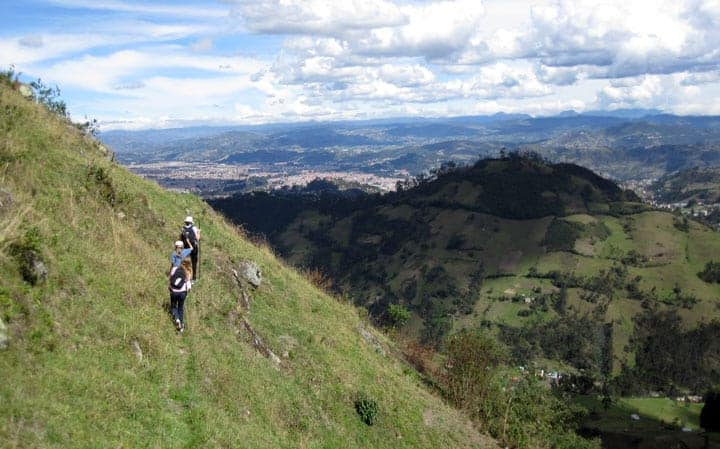 Hiking the Andes in Ecuador