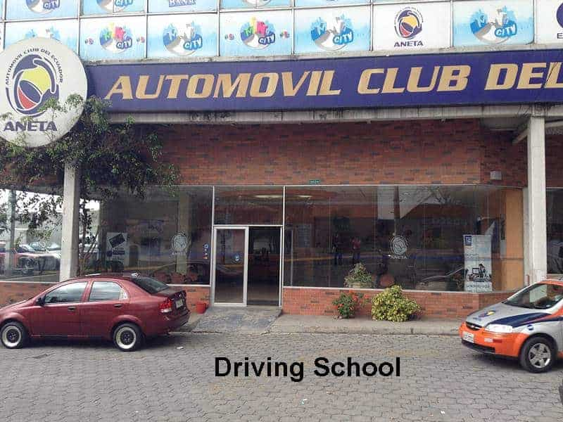 Ecuador driving school