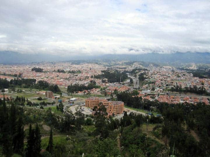 Nice view of Cuenca