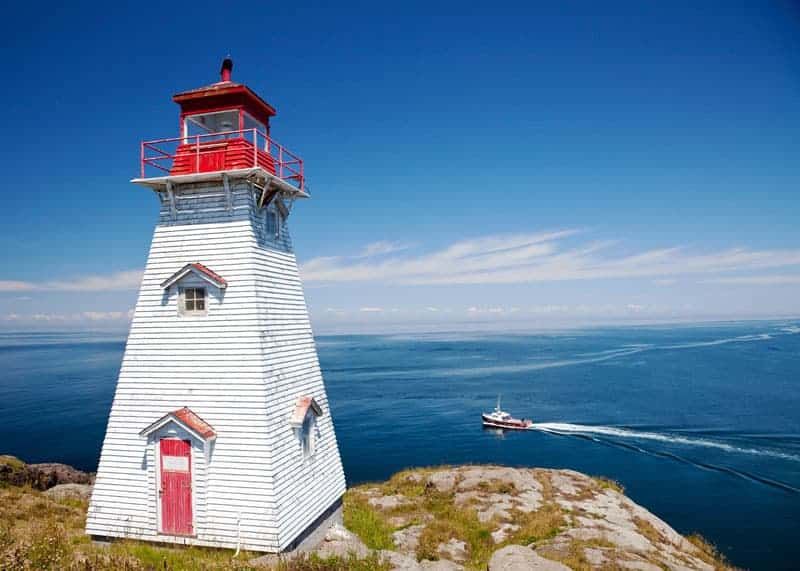 Boars Head Lighthouse Nova Scotia