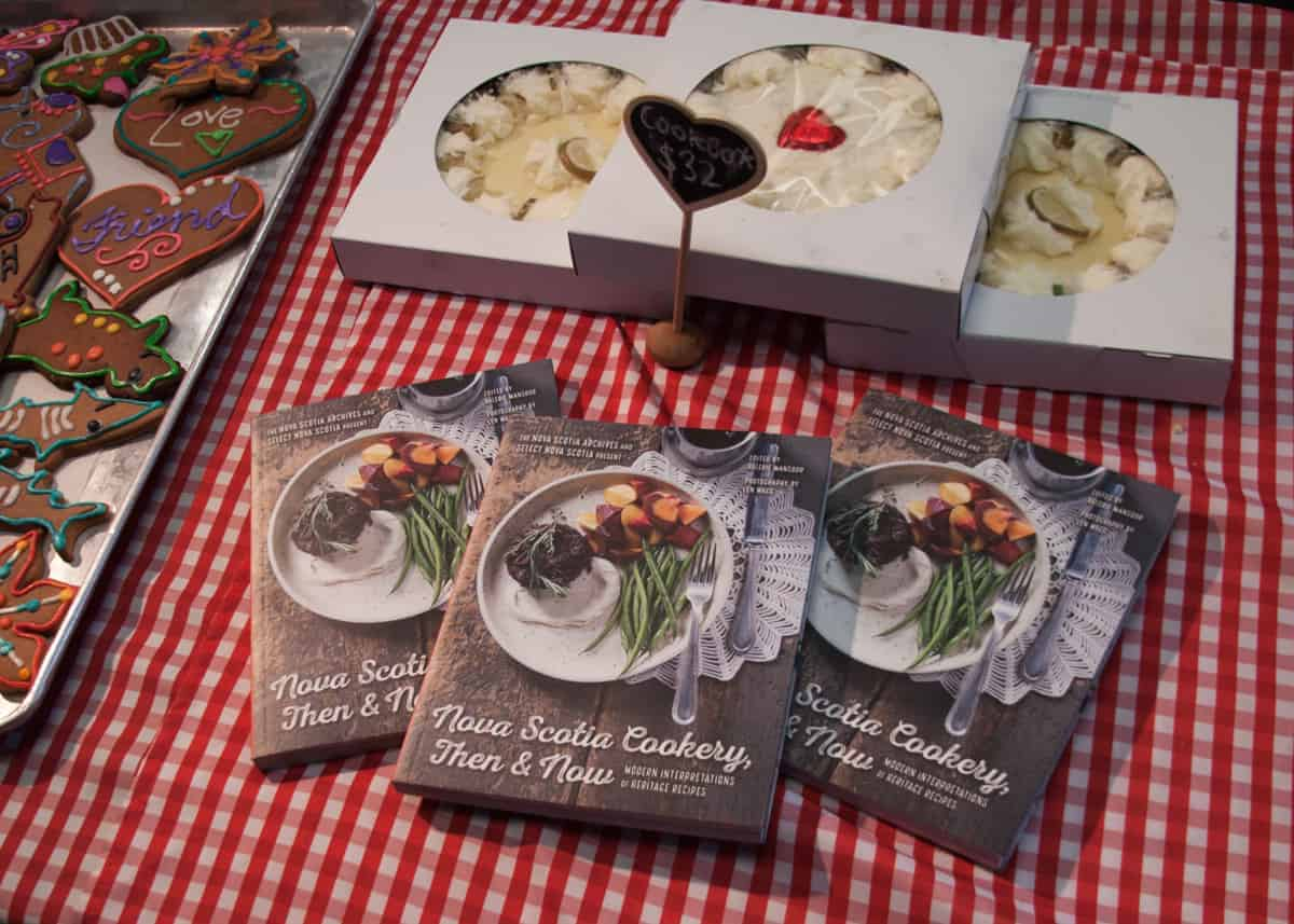 Nova Scotia Cookery cookbook at Halifax Farmers Market
