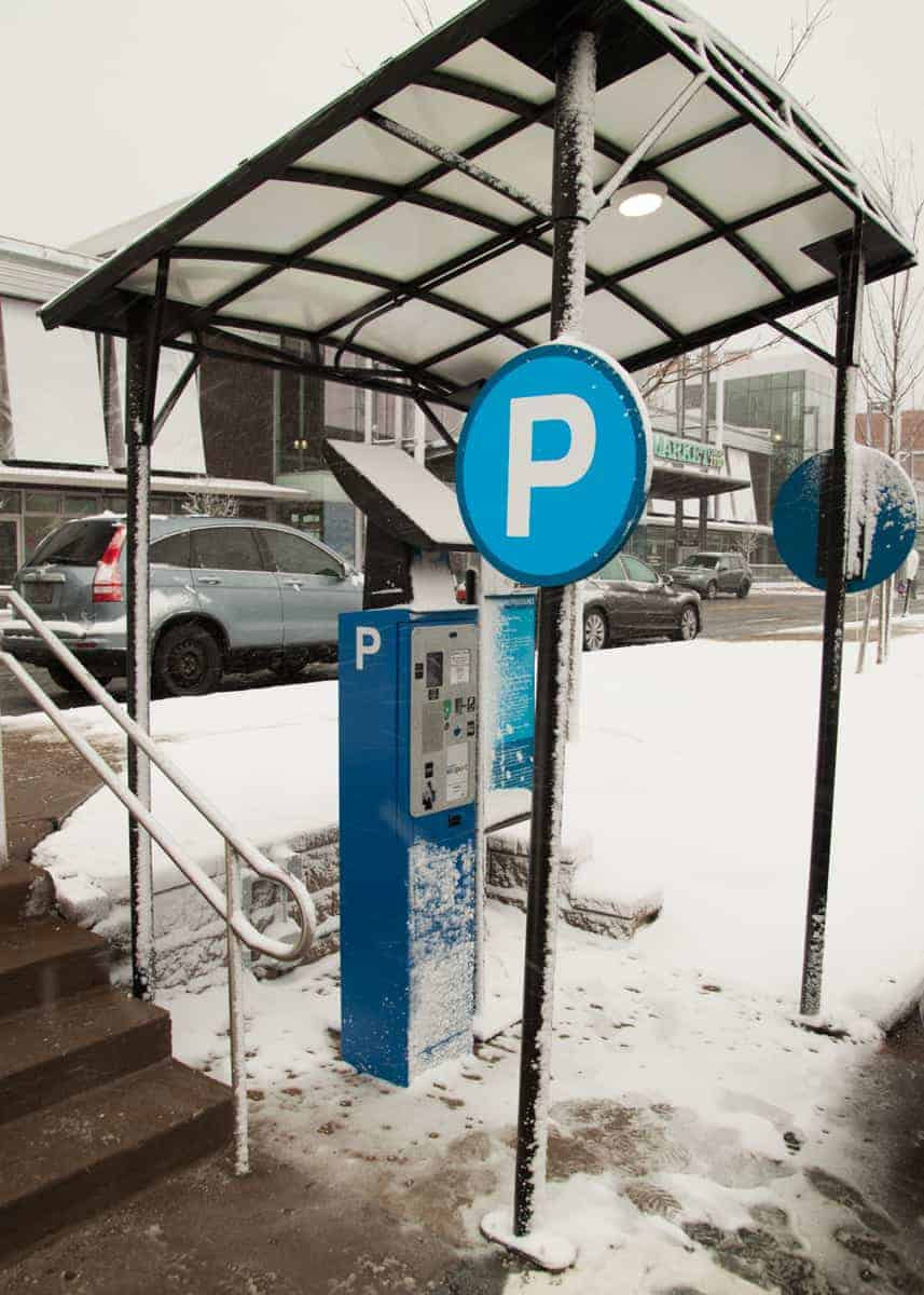 Parking at Halifax Farmers Market, Halifax N.S.