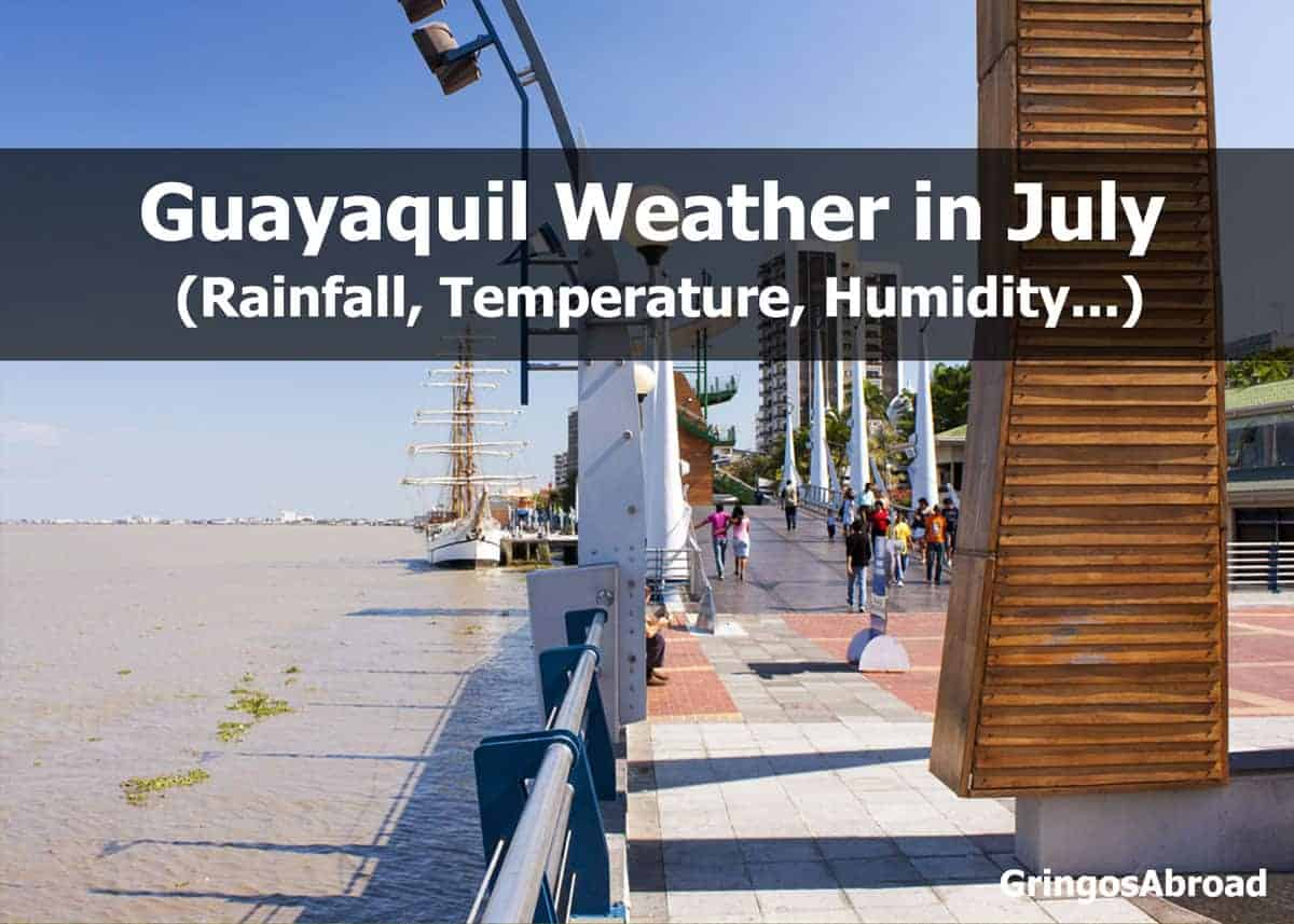 guayaquil weather in july