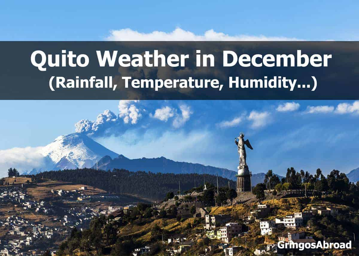 Quito weather in December