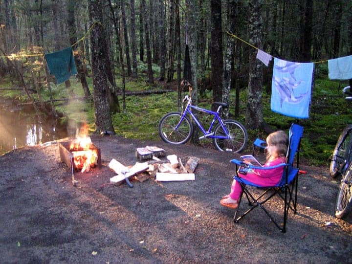 Camping at Rissers